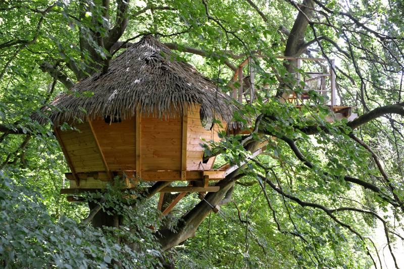 Les Cabanes de Fontaine-Chatel