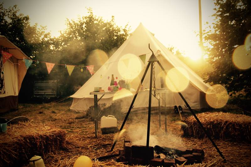 Deluxe Family Bell Tent for 2