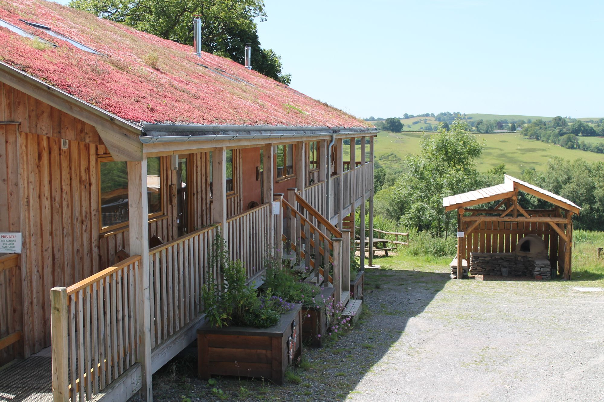 Campsites in Lampeter holidays at Cool Places