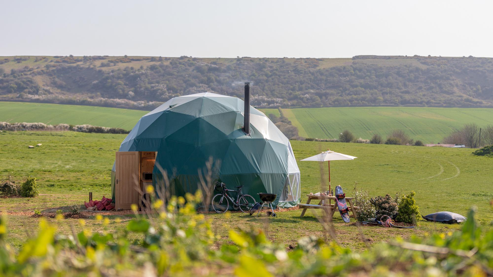 Glamping in Yarmouth holidays at Cool Places