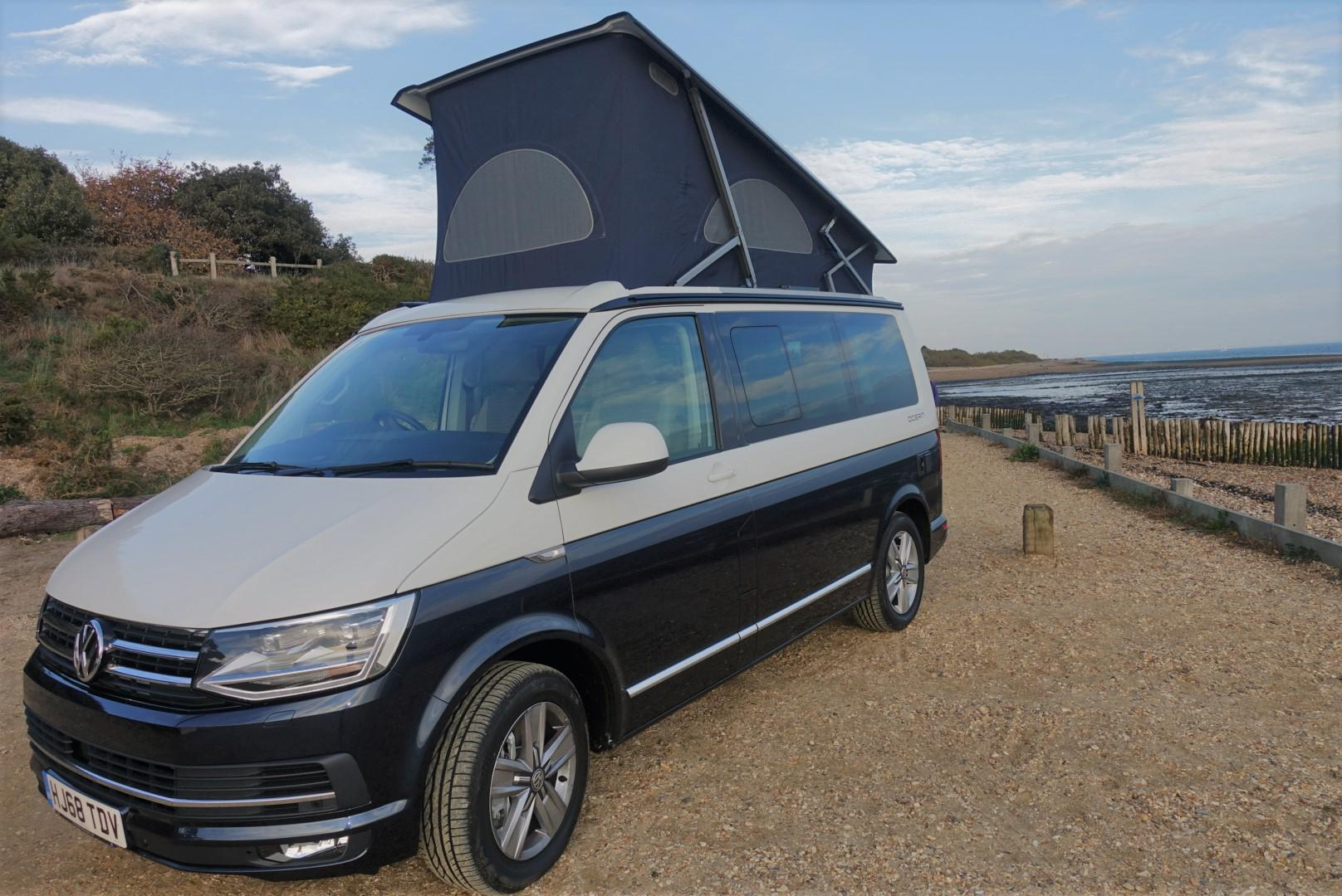 Campervans in South East England holidays at Cool Camping