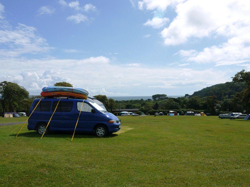 Oxwich Bay Beach Camping