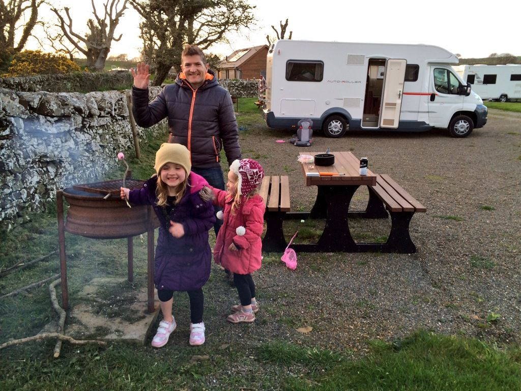 Campsites in Dumfries And Galloway holidays at Cool Places