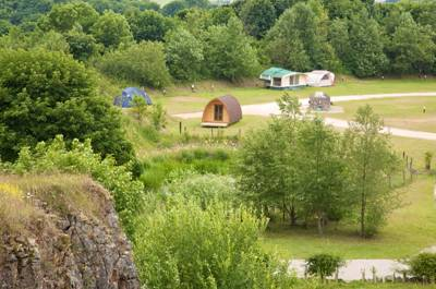 Spread over 37 acres and dotted with limestone farm buildings, Rivendale is a natural spot for every kind of camper.
