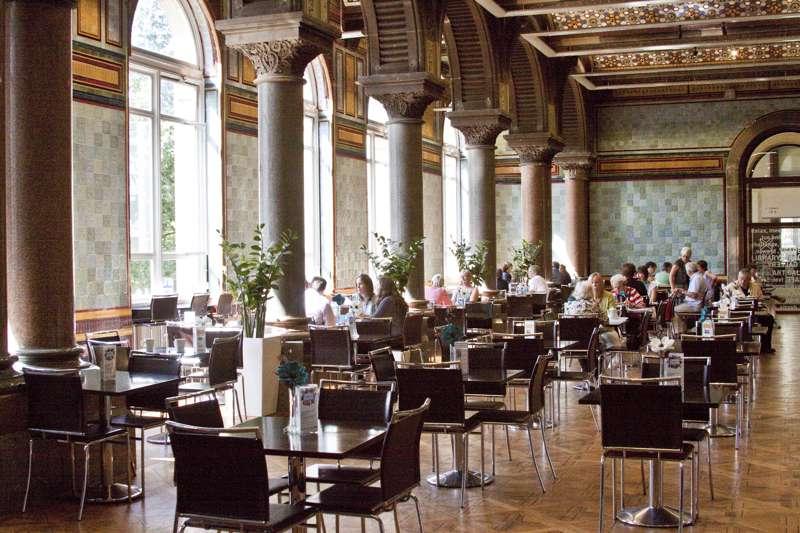 Tiled Hall Cafe