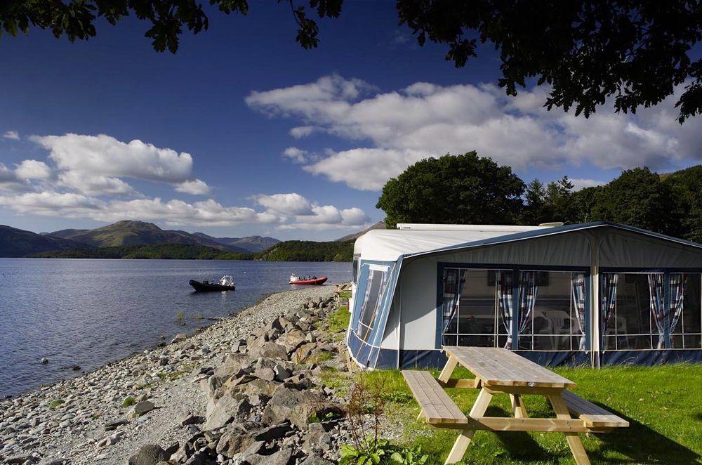 Campsites in Central Scotland
