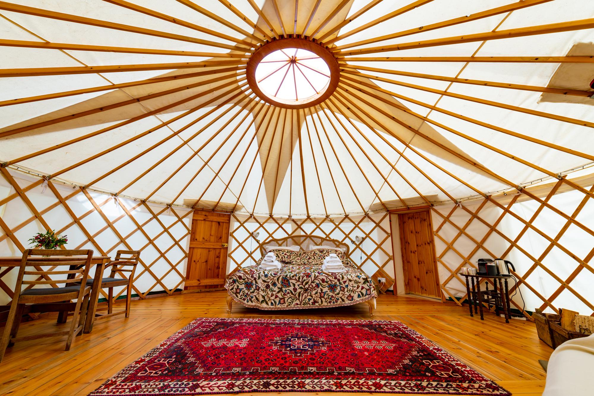 Glamping in Bridport – Cool Camping