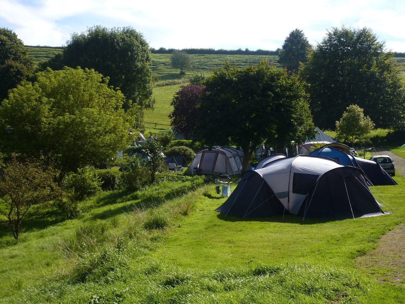 Campsites in Somerset