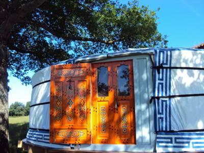 Chez Yurt Peytaveau 87320 Bussière-Poitevine, Haute-Vienne, France