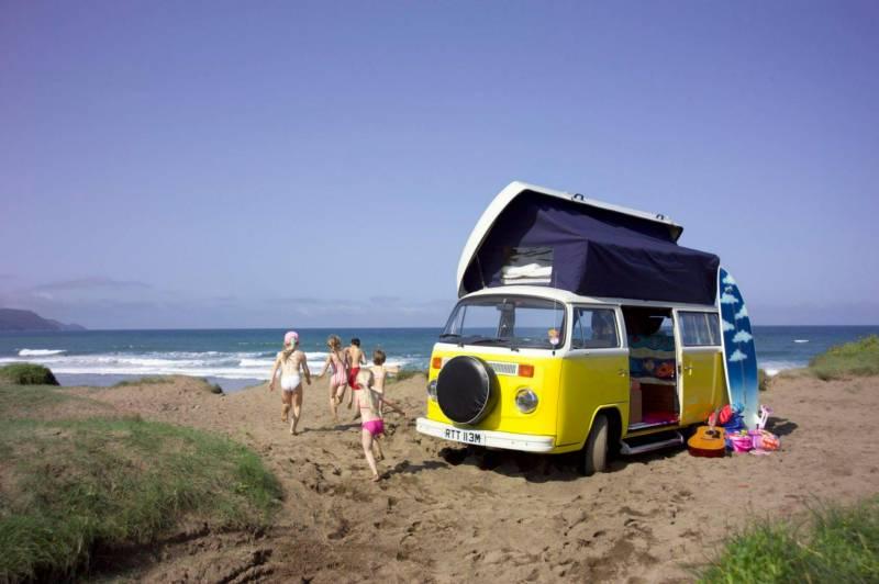 Cornwall campervan hire