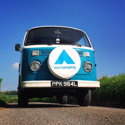 Win our vintage VW campervan when you book online