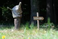 """""""Hérisson"""" Hedgehog Tree House"""