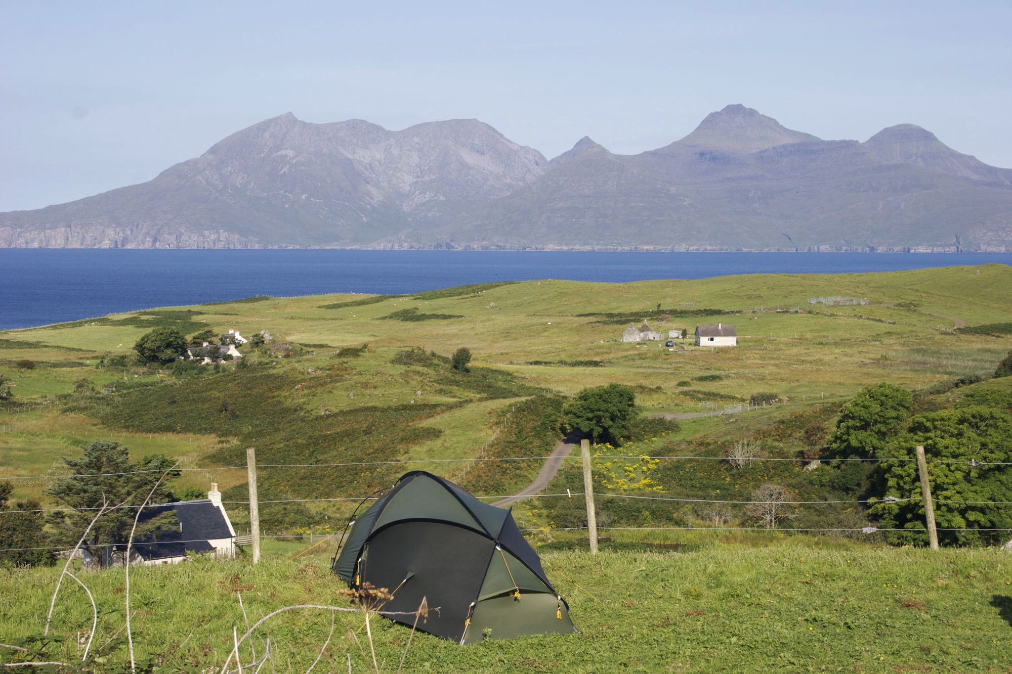 Campsites on the Scottish Isles