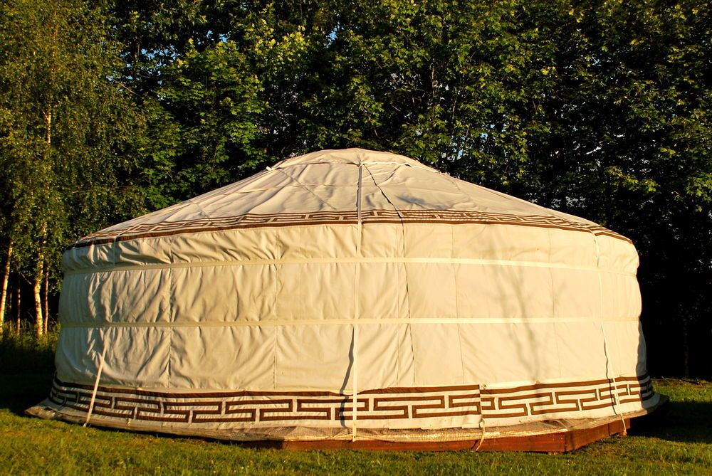Yurt Glamping in France