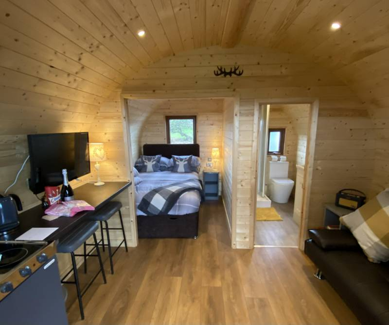 Gelt - Luxury Pod - dog friendly