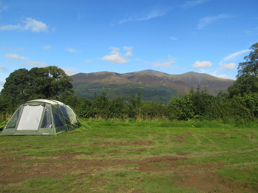 Camping i the lake district