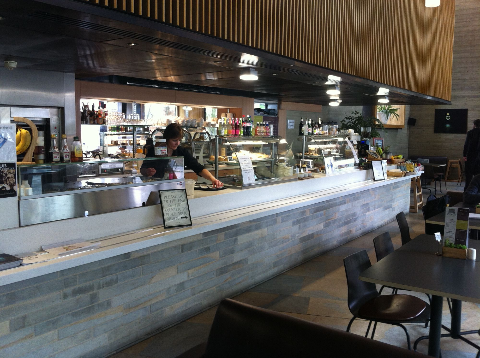 Stokes Cafe at the Collection