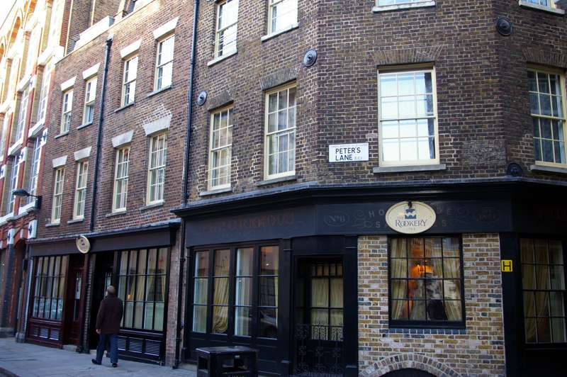 The Rookery Peter's Lane Cowcross Street London EC1M 6DS