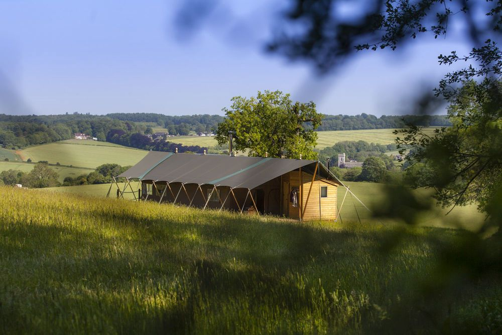 Glamping in Hampshire