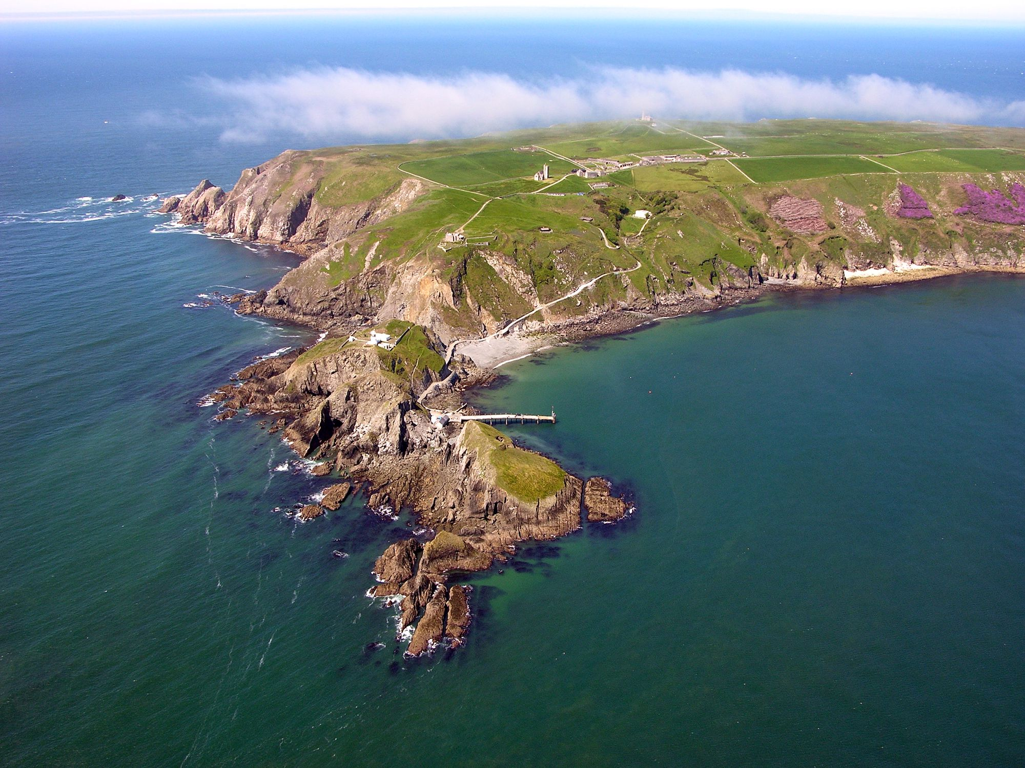 View of Lundy Island