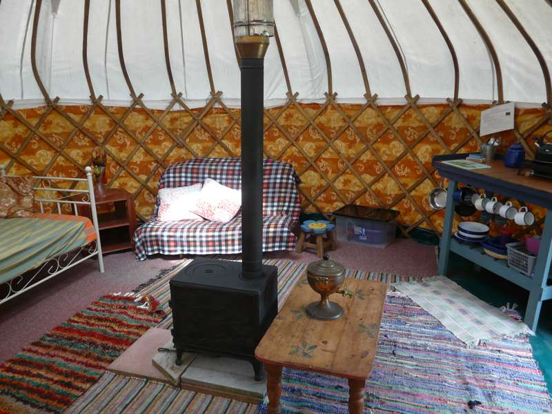Goldilocks Yurt
