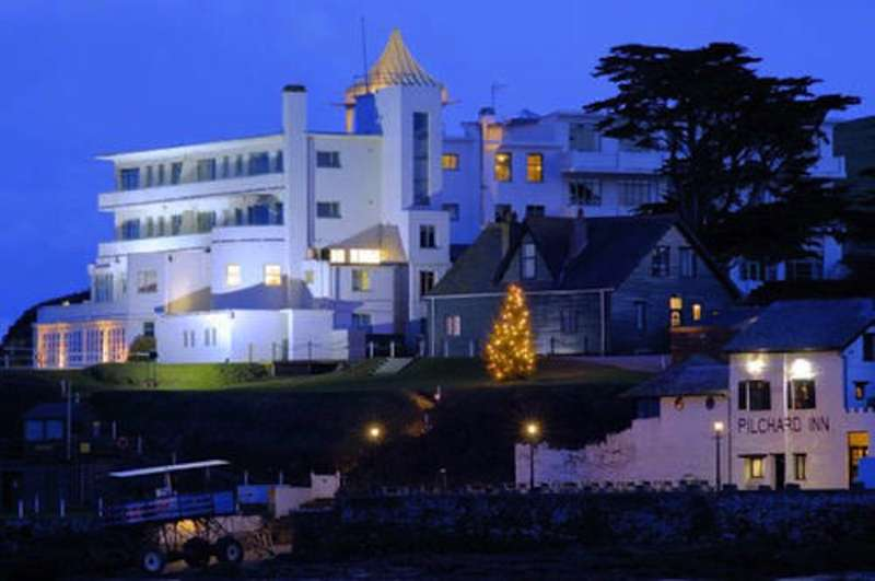 Burgh Island Hotel Bigbury-on-Sea Devon TQ7 4BG