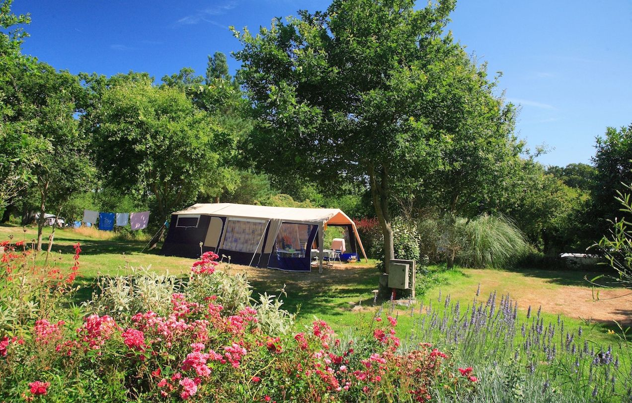 Campsites in North West France