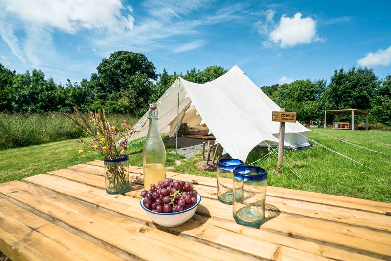 Bell Tent Group Bubble - Sleep up to 16