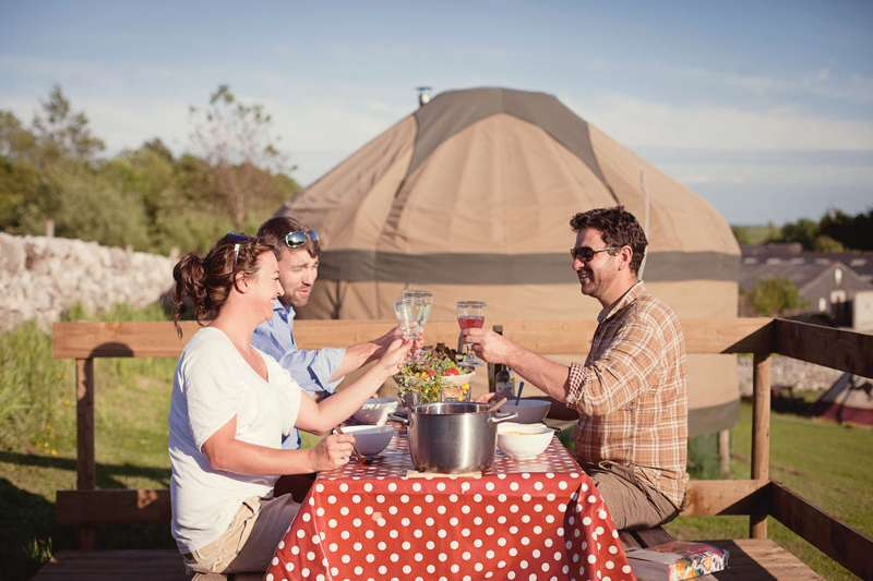 Win a Peak District Glamping Break for Four!