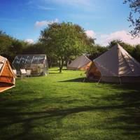 Adults-only camping pitch