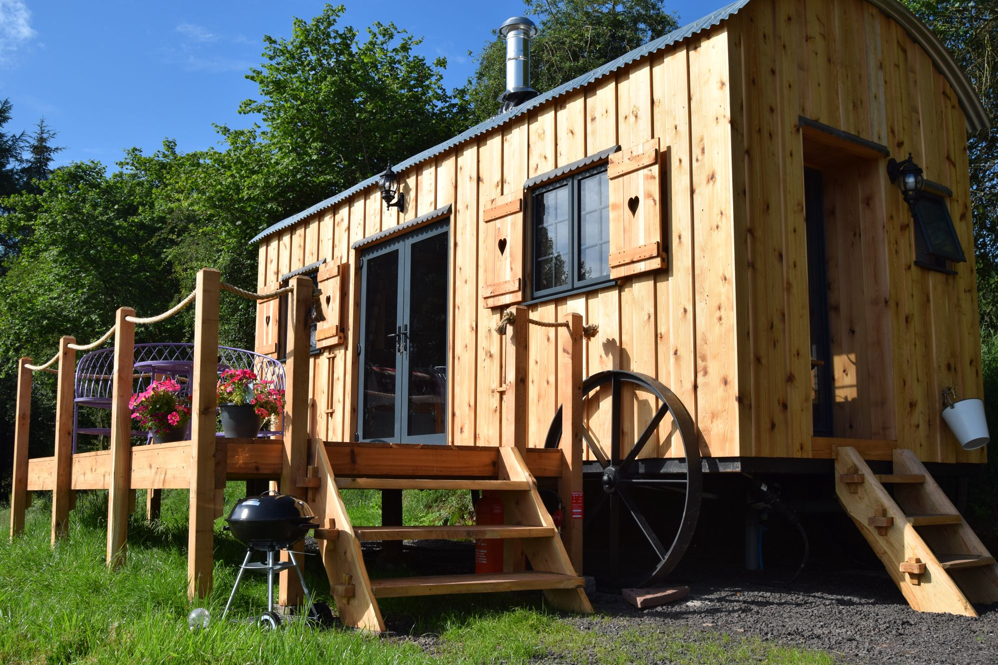 Crai Valley Glamping / Flying Scotsman