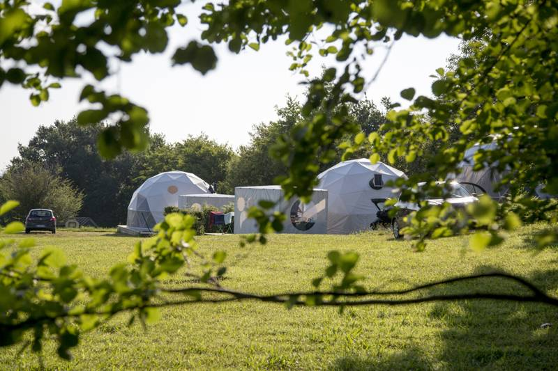 Glisten Camping - Col d'Ibardin Col d'Ibardin Campsite, 220 Route d'Olhette, 64122 Urrugne, France
