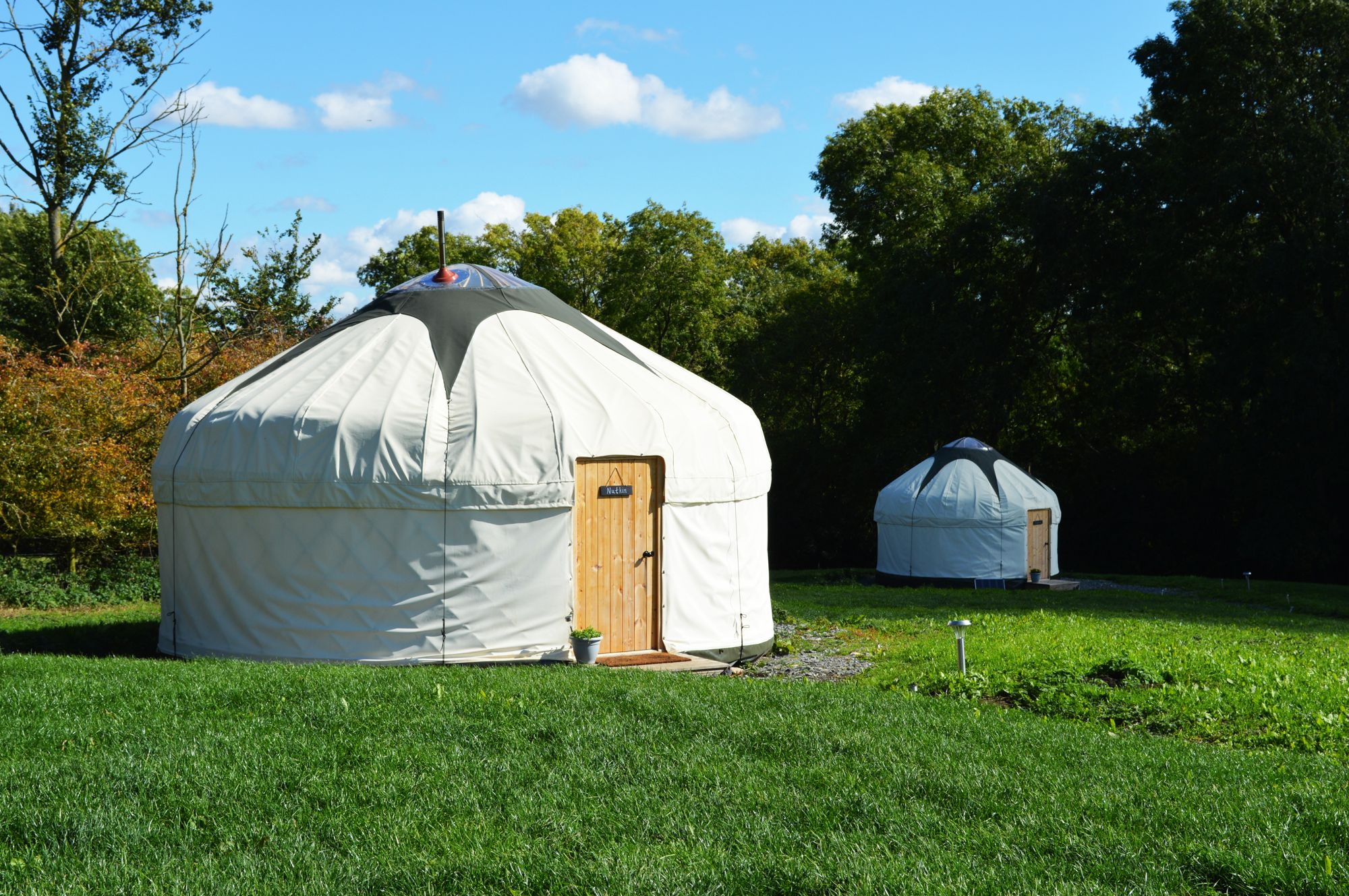 Glamping in Leicestershire holidays at Cool Camping