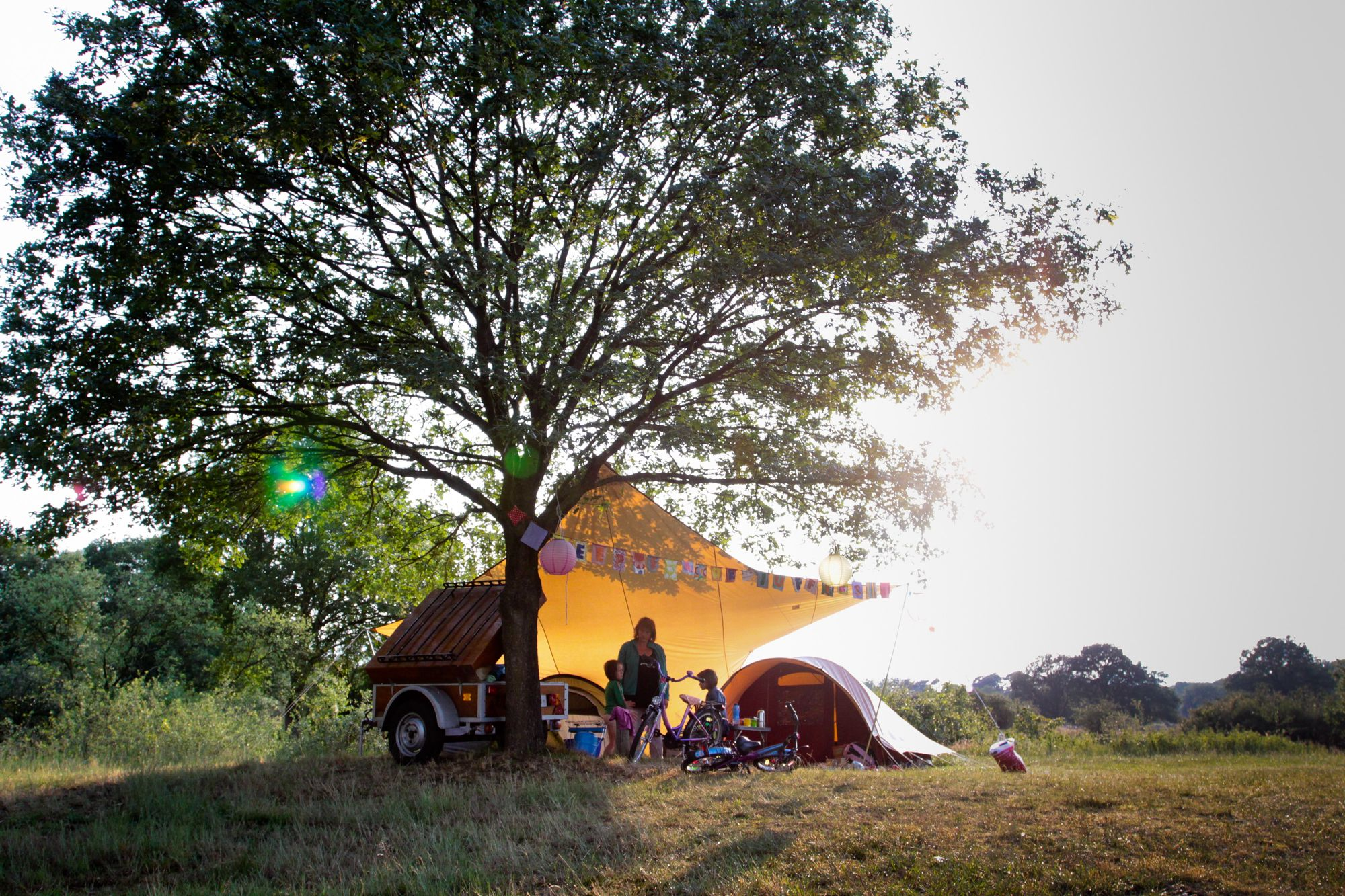 Campsites in Central Netherlands holidays at Cool Camping