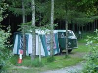 Gravel Pitch for Campervan or Caravan