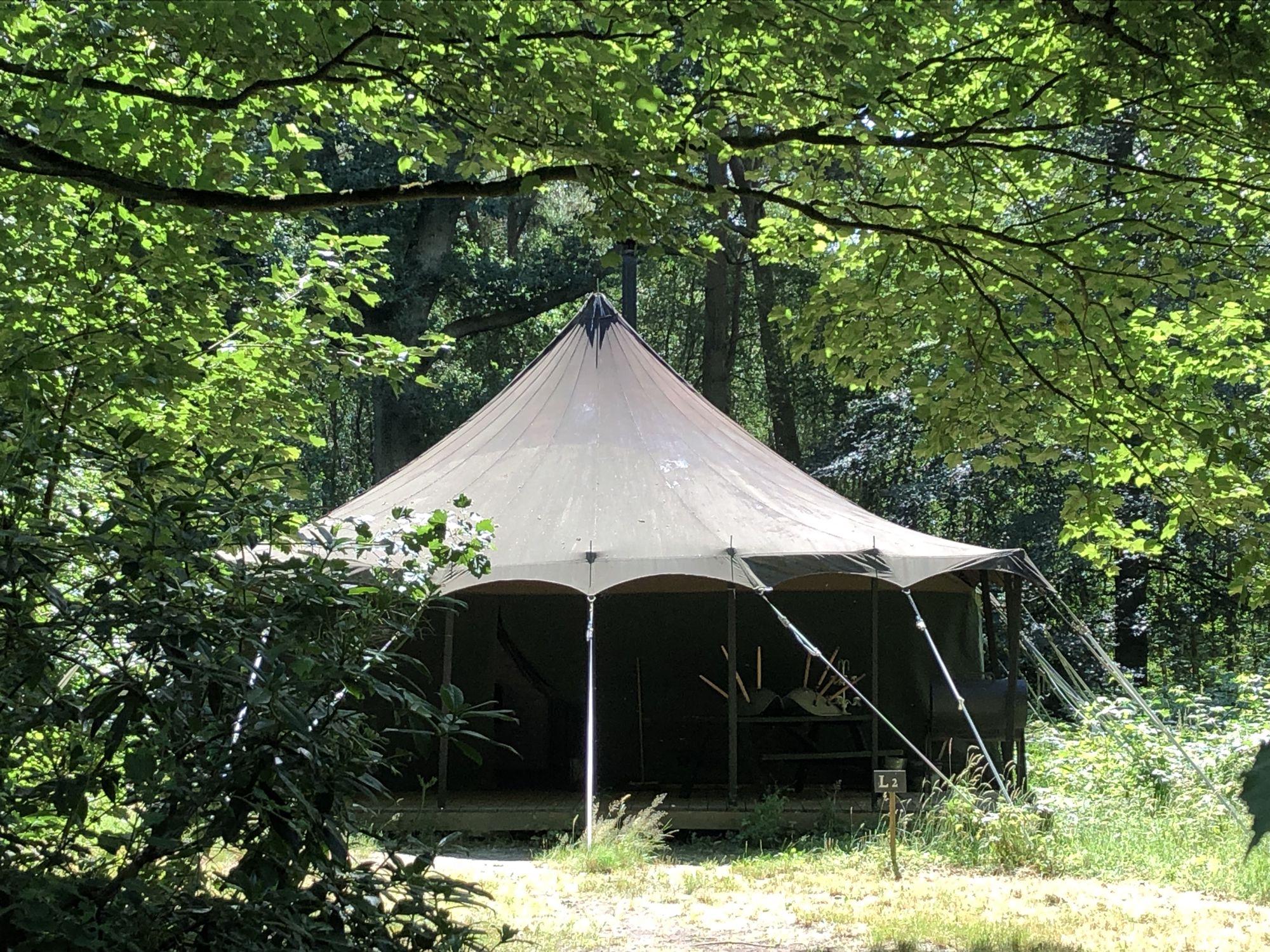 Woodland Tent At Jollydays Glamping Cool Camping