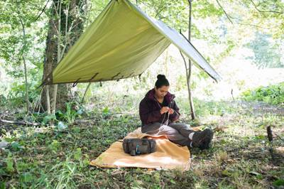 Almost wild camping within cycling distance of London and well run by the Lee Valley Park Authority.