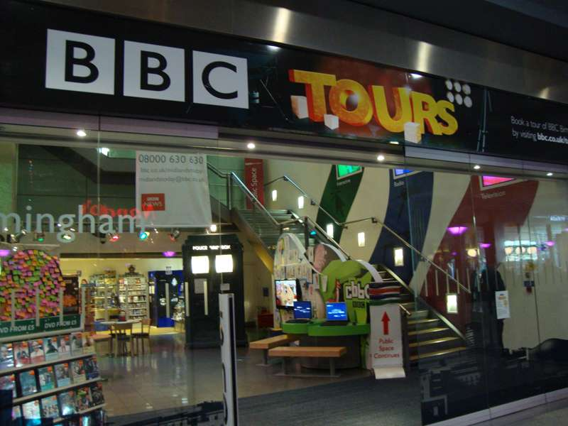 BBC Birmingham Tours and Public Space