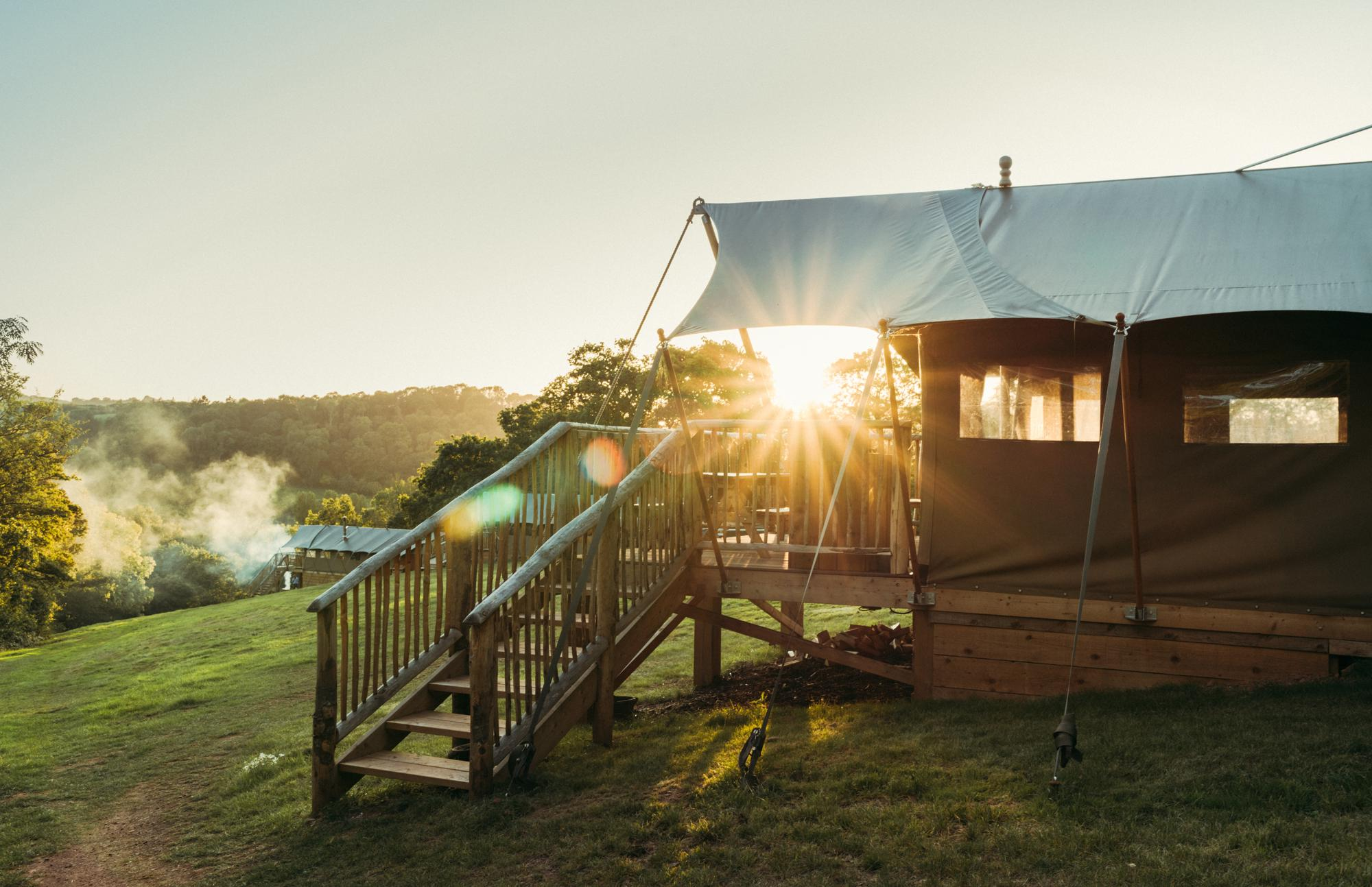 Book your next UK Glamping holiday direct with Cool Places.