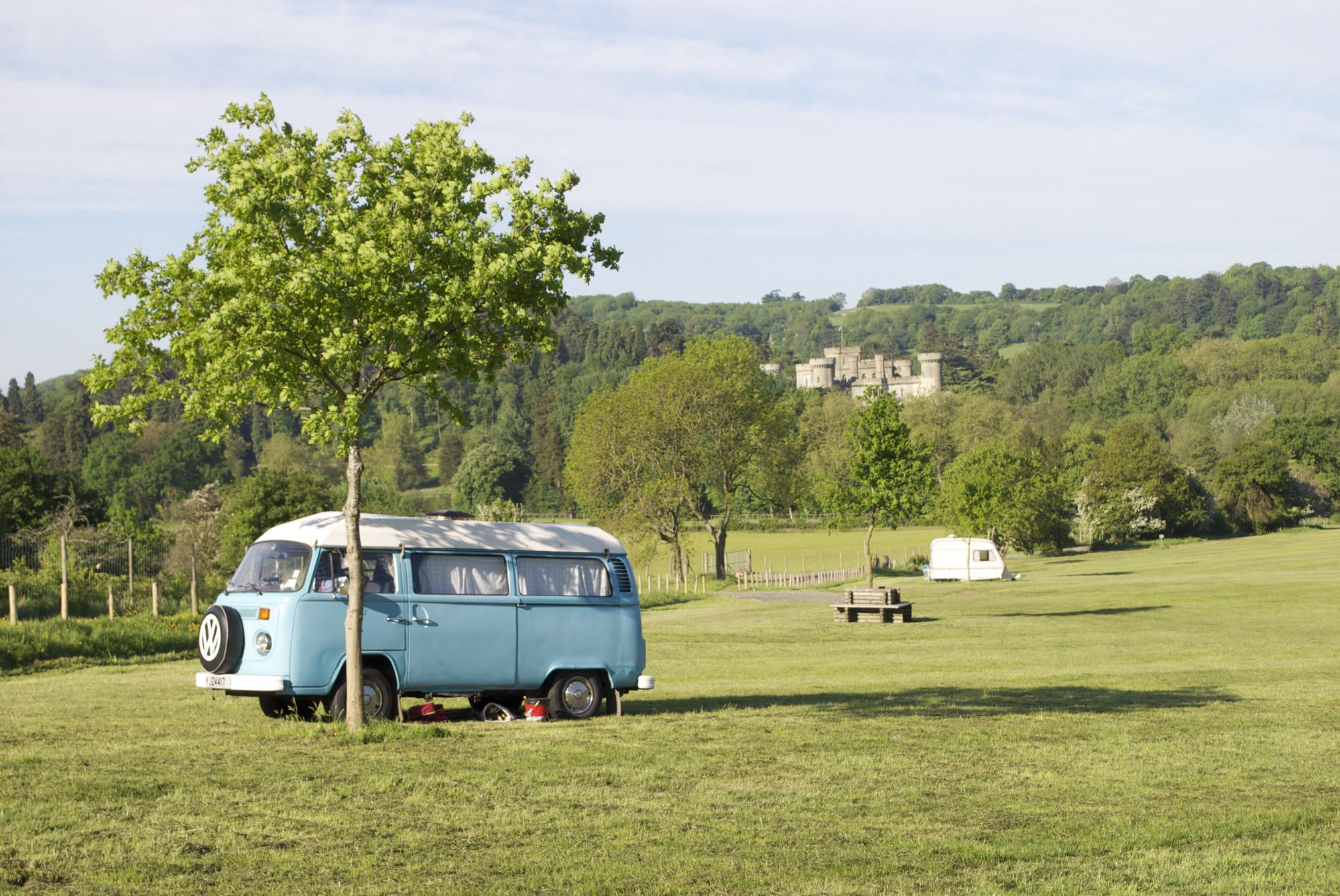 Campsites in the Malvern Hills Area of Outstanding Natural Beauty