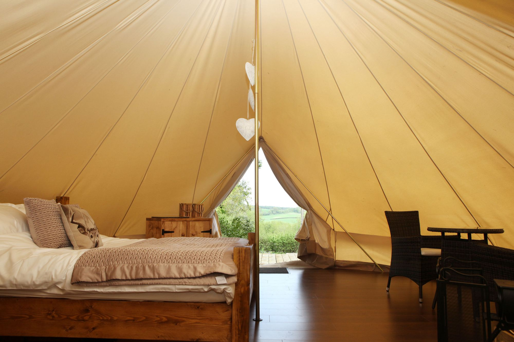 Glamping in the UK