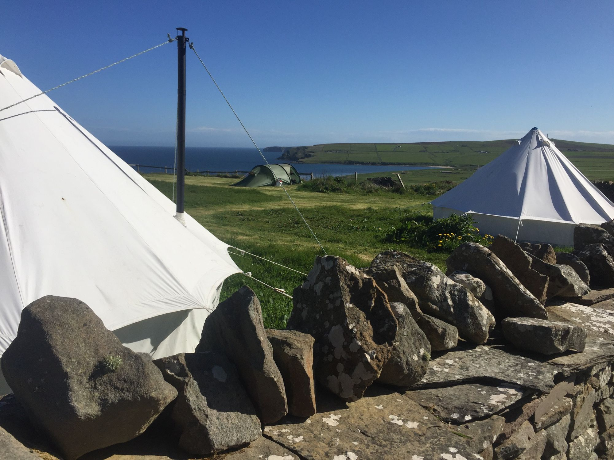 Campsites in Scottish Isles holidays at Cool Places