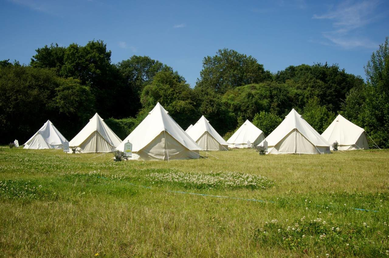 A conference-centre-cum-campsite in rural Worcestershire that's ideal for large events, parties and communal gatherings for anyone, including first time campers and comfy glampers.