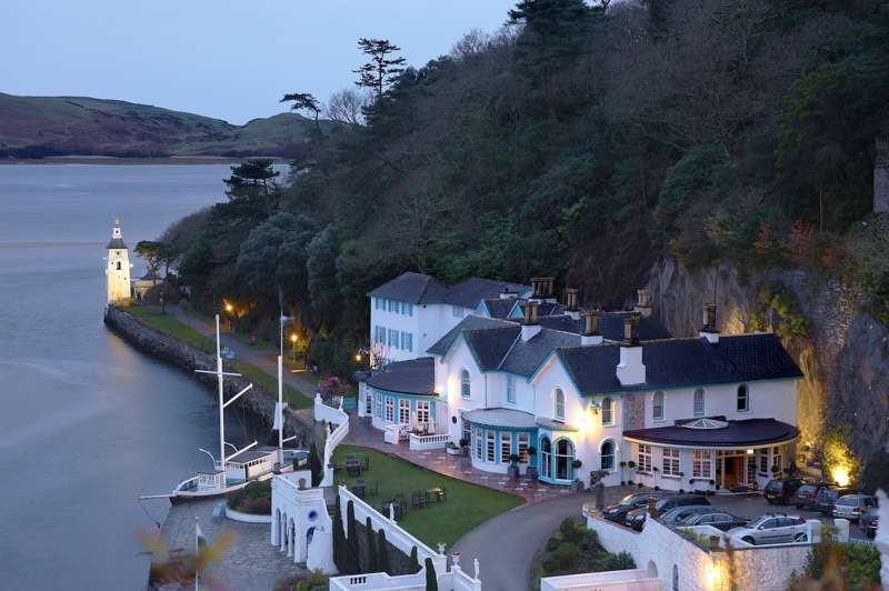Staying in Portmeirion