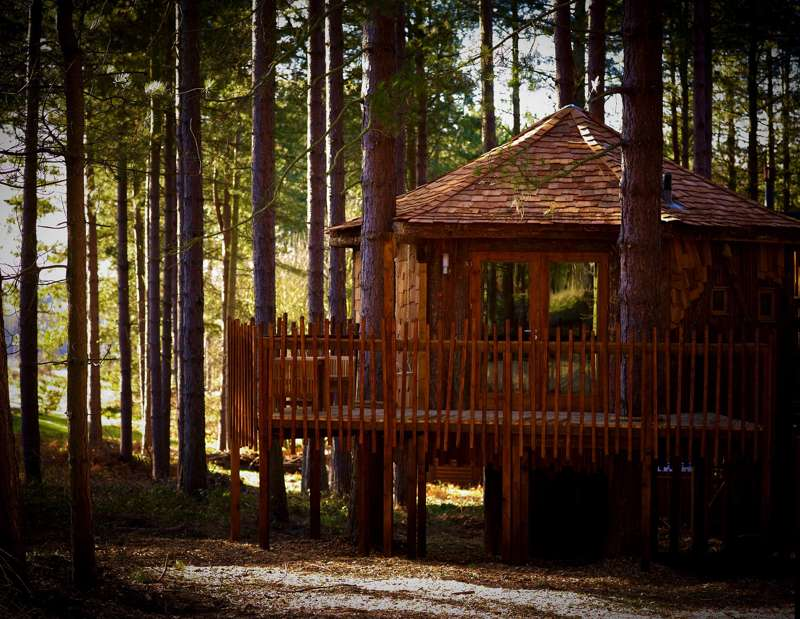 Forest Holidays Sherwood Forest Sherwood Pines Forest Park  Edwinstowe  Nottinghamshire  NG21 9JH