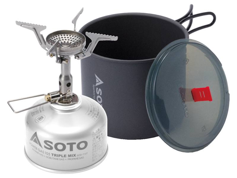 SOTO Amicus camping stove – Gear Review