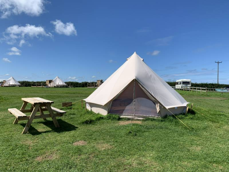 Pre-pitched Bell Tent (Basic)