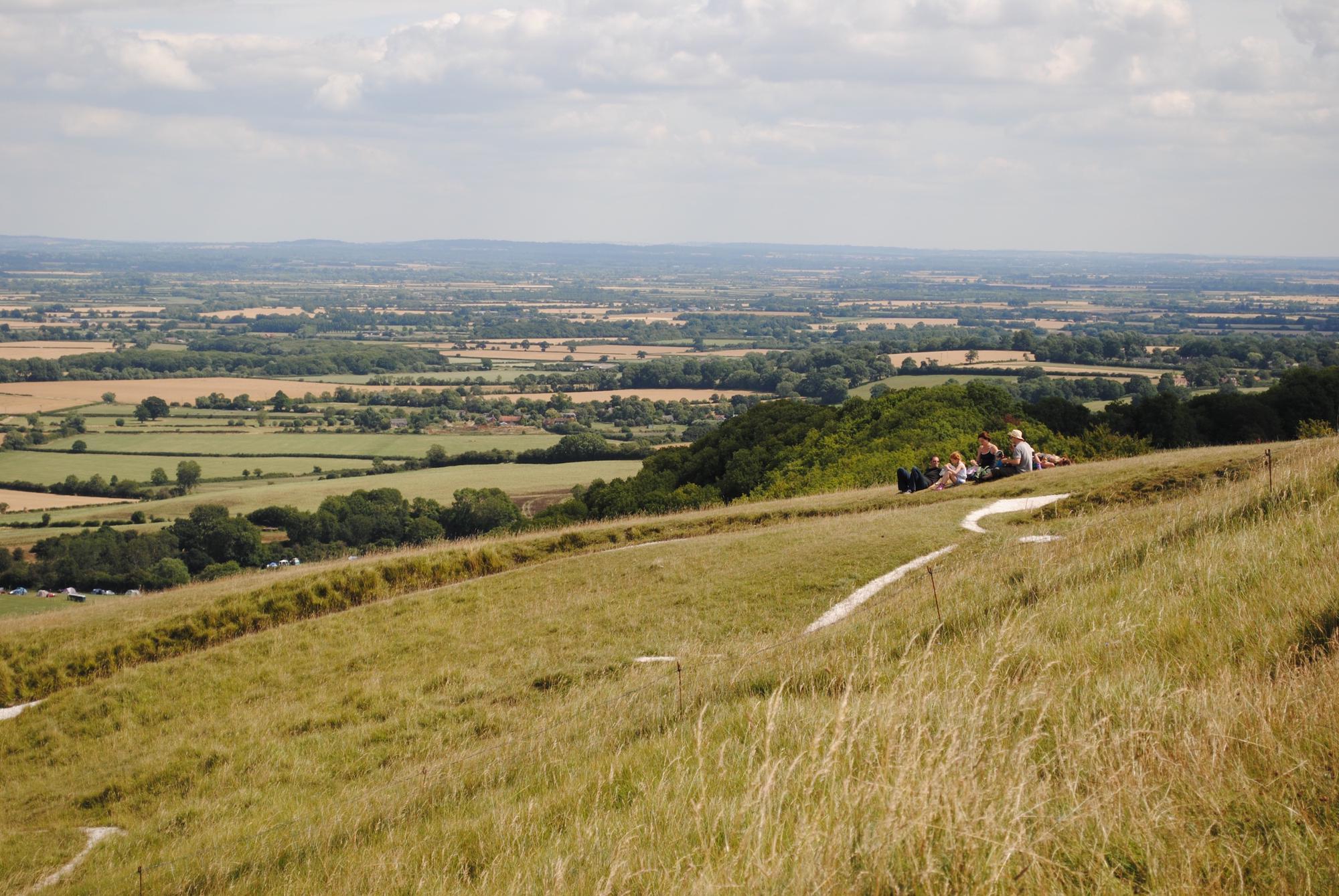 Uffington Camping Campsites Near Uffington Oxfordshire