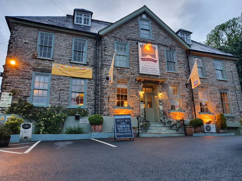 The Castle Hotel Bishop's Castle Shropshire SY9 5BN