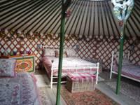 Mongolian Yurt with Sauna and Hot Tub